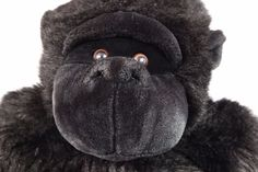 Gorilla Plus Large Stuffed Animal Black Hard to Find Huge 30 inches Sits Plush