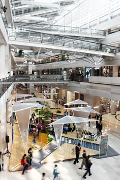 latitude was commissioned in collaboration with better homes and gardens magazine to design a pavilion for beijing financial street mall