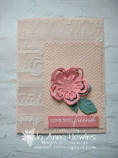 CCMC #675 Is a CASE of the Catalog page 157. Summer Shadows Dies from Sale-a-Bration are used and the Merry Melody EF. By Jo Anne Hewins Stampin Up, Merrie Melodies, Sale Flyer, Glue Dots, Paper Pumpkin, Embossing Folder, Paper Design, Scrapbook Pages, I Card