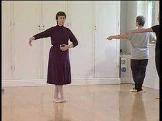 Ballet Class for Adult Beginners Basic Step Exercise (tendu)