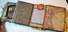Scrapbooking Paper Bag Mini Album)