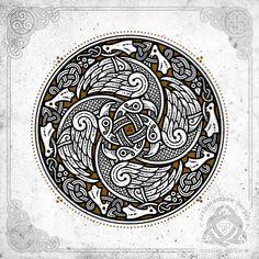 Acier Inoxydable Triskelion Celtique /à Trois Pattes /île de Man Bague polie de Style Motard Motif g/éom/étrique