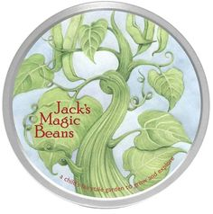 Fairytale Garden Kits  - Jack and the Beanstalk Magic Beans, or Princess and the Pea Sweet Peas - $12.00| Children's Gardening | Learning to Garden | Kids Garden