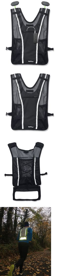 Safety and Reflective Gear 158951: Roadnoise Long Haul Running Cycling Vest. Speakers Below, Not In Your Ears. M L -> BUY IT NOW ONLY: $90 on eBay!