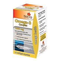 nativa omega 3 complex 60's