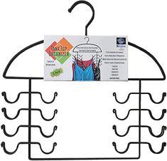 Axis International Marketing Tank Top Hanger, Black, large, Set of 2 - 8200: Amazon.ca: Home & Kitchen Hanging Closet Organizer, Closet Organization, Organization Ideas, Storage Ideas, Bra Storage, Storage Spaces, Closet Storage, Smart Storage, Closet Space Savers