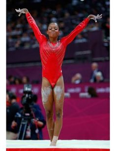 Olympic Gymnasts Wear Crazy Eyeshadow http://lcky.mg/MqBrmz