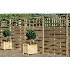 Wickes Hertford Fence Panel 1.8mx1.2m 5 Pack £249 for a pack of 5
