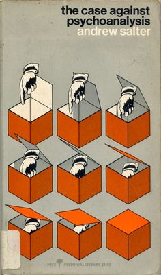 The Case Against Psychoanalysis by Andrew Salter book cover design Best Book Covers, Vintage Book Covers, Beautiful Book Covers, Book Cover Art, Book Cover Design, Vintage Books, Book Design, Vintage Graphic Design, Graphic Design Posters