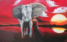 """Crimson Dawn"" DST art by Ansel Butler"
