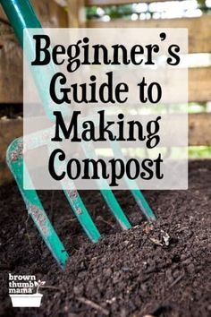 It's easy to make compost for your garden! Composting is a great way to convert home and garden waste into nourishing soil. Here are three easy ways to make compost. #Gardening #OrganicGardening #ForBeginners How To Make Compost, Organic Fertilizer, Organic Gardening, Gardening Tips, Vegetable Garden Design, Vegetable Gardening, Garden Plants, House Plants