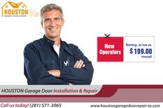 New Operators starting as low as $199.00 + Install in Houston