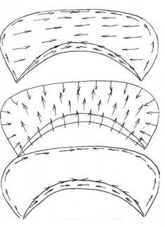 Сегодня мы рассмотрим построение самых простых воротников – называются они стояче-отложные, с застежкой от борта до верха. Надеюсь, скучно не будет. :-) Этот воротничок строится отдельно от выкройки. Нам понадобится только длина горловины. Вначале немножко теории. Строим прямой угол с вершиной в точке О. От точки О вверх отмеряем отрезок ОВ, величина которого…