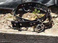 Végétalien Halter convivial O Ring ceinture assemblé U.S.A.