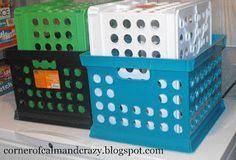 Chest freezer organization