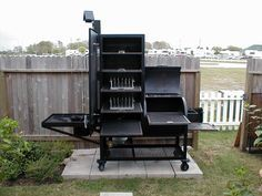 smokers and grills | Upright Water Smoker and Grill