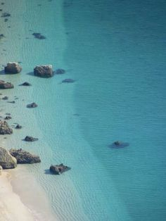 Portinho da Arrabida beach, with its 50 shades of blue / portugal