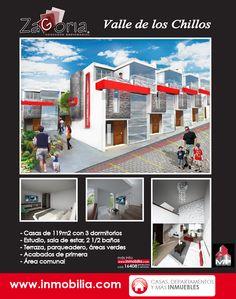 ZAGORIA: #Casas de 119m2 en el #ValledelosChillos http://ecuador.inmobilia.com/es/detalleProyecto/16408-Zagoria. #InmobiliaEcuador #Quito