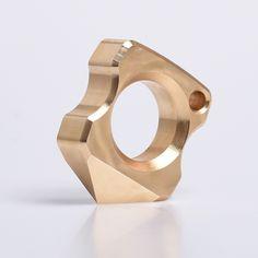 Self Defense Emergency Window Broke Tool Magical Circle Ring Knuckle In Chrome