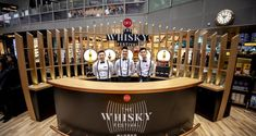 """""""Journey before the journey"""": DFS launches The Whisky Festival with pop-up speakeasy bar in Changi first - The Moodie Davitt Report Whiskey House, Whisky Bar, Whisky Live, Whisky Festival, Singapore Changi Airport, Speakeasy Bar, Pop Up Bar, Wooden Bar, Le Moulin"""