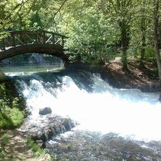 Sourse of river Bosnia, Ilidža, Sarajevo Bosnia, Travelling, Waterfall, River, Country, Natural, Painting, Outdoor, Beautiful