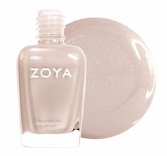 """This opaque, full-coverage nude from Zoya has a touch of shimmer and is a soft, milky beige color. <em>(Zoya Nail Polish in Minka, $8, <a rel=""""nofollow"""" href=""""http://zoya.com/content/38/item/Zoya/Nude-Nail-Polish-Minka-Zoya-Nail-Polish.html"""">zoya.com</a>)</em>"""