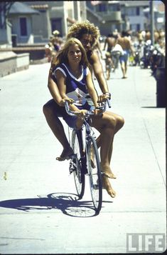 summer in the 70s in California. Venice or Santa Monica I think.