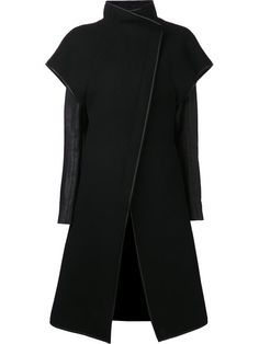 Shop Gareth Pugh contrasting coat in Anastasia Boutique from the world's best independent boutiques at farfetch.com. Over 1000 designers from 60 boutiques in one website.