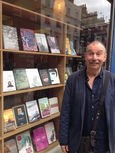 The author (me) outside Gay's the Word