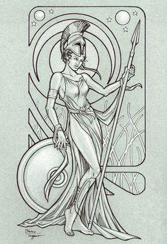 A sexy Athena