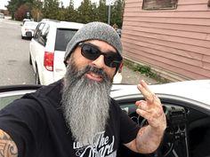 Long Gray Hair, Men With Grey Hair, Grey Beards, Long Beards, Moustache, Beard Cuts, Hair And Beard Styles, Hair Styles, Beard Haircut