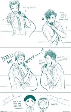HAHAHAHAHAHA! Poor Akaashi and Kenma... they have to deal with these dorks everyday! XD || BokuAka and KuroKen