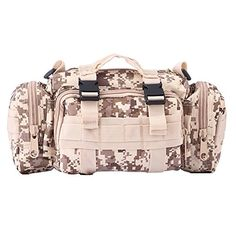 ELEAR® 3P Multipurpose Waterproof Tactical Waist Pack Bag Backpack Camera Bag Magic Pockets Camping Hiking Trekking Bags