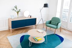 French brand HARTÔ has launched a trio of new products for 2016, which includes a sideboard, an armchair, and a shelving system. The new pieces continue the company's simple, modern aesthetic dotted with fun details.Pierre-François Dubois designed the Marius sideboard, which marks his 6th design for the brand. The lower curves mimic those of a …