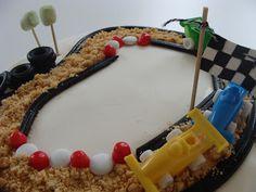 rally birthday cake