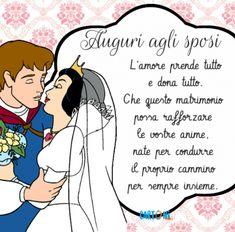 Auguri agli sposi Che questo matrimonio - Cartoni animati