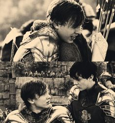 Peter and Edmund. These are a two of my favorite fantasy brothers because they really do love each other.