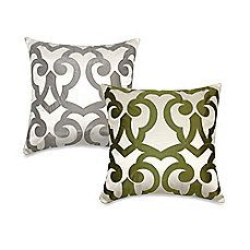 image of Barcelona Laser Square Throw Pillow