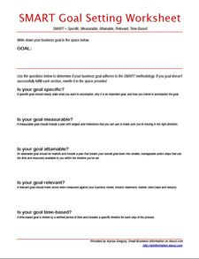 Worksheets Goal Setting Worksheet Pdf smart goals template random things pinterest targets goal setting tips for small business owners