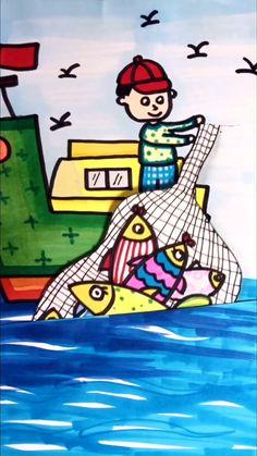 Paper Crafts Origami, Paper Crafts For Kids, Cardboard Crafts, Preschool Crafts, Diy For Kids, Fun Crafts, Halloween Crafts For Toddlers, Art Drawings For Kids, Drawing For Kids