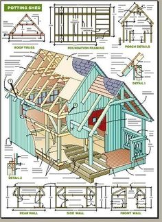 Wood Shed Plans - Check Out THE PIC for Lots of Shed Ideas. 88326772 #shedplans #woodshedplans