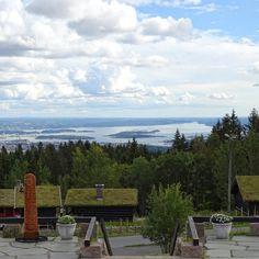 oslo   norge   frognerseteren med utsikt på oslofjorden
