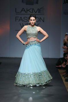 Lakme Fashion week: Summer 2014: Aprita Mehta bridal lehenga.