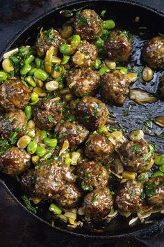 Ottolenghi's Beef Meatballs with Broad Beans and Lemon - The Happy Foodie