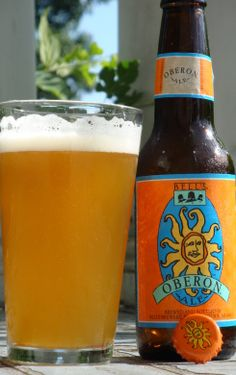 Bell's Oberon : An American wheat ale with the color and sent of a summer afternoon.