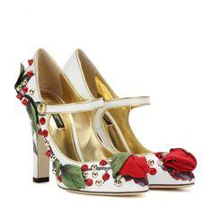 Verzierte Pumps Aus Lackleder - Dolce & Gabbana ✽ mytheresa