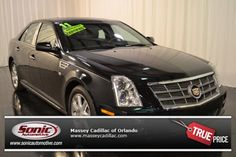 Certified Pre-Owned 2011 CADILLAC STS For Sale in Orlando near Daytona Beach, FL - PB0120098