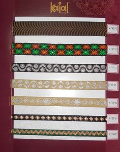lace borders for saree