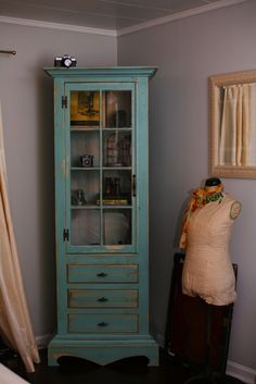 Handmade Apothecary Cabinet Made From (100% Reclaimed Materials)