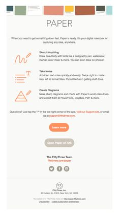 The Best Email Designs in the Universe (that came into my inbox) Email Layout, Welcome Emails, Sale Emails, Email Design Inspiration, Email Marketing Design, Draw On Photos, Best Email, Calligraphy Pens, Newsletter Design